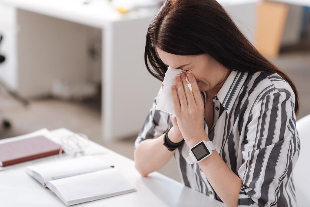 Flu Free Zone in Office